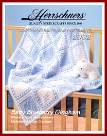 Cover of Herrschners Award Winning Baby Afghans 2002