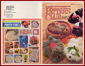 Annie's Quick & Easy Pattern Club No. 100, Aug- Sept 1996
