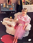 Annies Fashion Doll Crochet Club: Wicker Gossip Bench