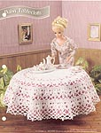Annies Fashion Doll Crochet Club: Daisy tablecloth
