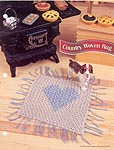 Annies Fashion Doll Crochet Club: Country Woven Rug