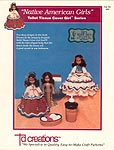 Td creations Native American Girls Toilet Tissue Cover