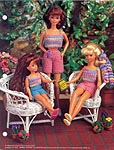 Annie's Fashion Doll Crochet Club: Cool Crop Tops