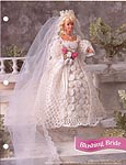 Annies Fashion Doll Crochet Club: Blushing Bride