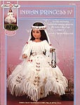 Indian Princess IV in ceremonial wedding dress for 15 inch dolls