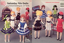 Saturday Nite Dolls, outfits inspired by the 1950s and 1960s for 15 inch craft dolls.