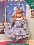Shady Lane Victorian Collection Winter Blues dress for 18 inch dolls.