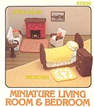 Miniature Living Room & Bedroom