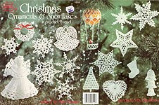American School of Needlework Christmas Ornaments & Snowflakes in Crochet Thread