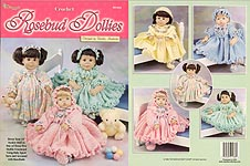 The Needlecraft Shop Rosebud Dollies outfits for 21 inch Syndee baby dolls.