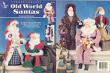 Annies Attic Old World Santas