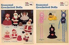 Harold Mangelsen & Sons, Inc., Seasonal Crocheted Dolls