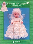 Td creations, inc. Crochet 13-inch Angel