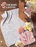 Baby Bear Layette, Annies Crocheted Quilt and Afghan Club