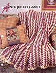 Antique Elegance afghan designed by Maggie Weldon for Annie's Crochet Quilt and Afghan Club