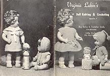 Virginia Lakin: Doll Knitting & Crocheting for Baby & Toddler Dolls