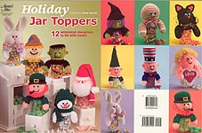 Annies Attic Holiday Jar Toppers