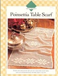 Poinsettia Table Scarf