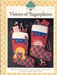 Visions of Sugarplums Christmas Stocking