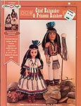 Chief Rainmaker & Princess Rainbow outfits for 15 inch dolls