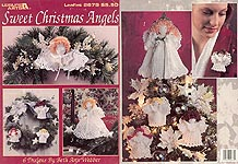 Leisure Arts Sweet Christmas Angels