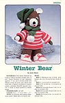 Annie's Attic Winter Bear