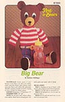 Annie's Attic Hug-A-Bears: Big Bear