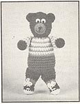 Annie's Attic Hug-A-Bears: Little Bear (original black & white)