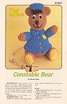 Annie's Attic Hug-A-Bears: Constable Bear