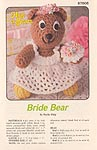 Annie's Attic Hug-A-Bears: Bride Bear