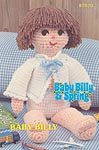 Annie's Attic Baby Billy 21 inch soft sculpture doll.