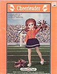 Cheerleader outfit for 16 inch male fashion doll