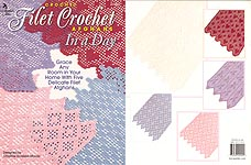 Annie's Attic Fliet Crochet Afghans in a Day