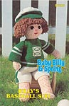 Annie's Attic Baby Billy Baseball Suit