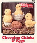 Annie's Attic Chicken Crow-Chet: Cheeping Chicks and Eggs