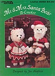 Mr. & Mrs. Santa Bear to Crochet