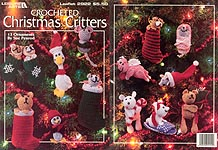 Leisure Arts Crocheted Christmas Critters