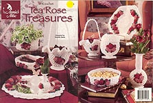 Annie's Attic Crochet Tea Rose Treasures