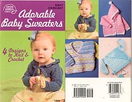 ASN Adorable Baby Sweaters