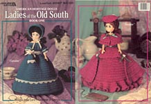 Leisure Arts Ladies of the Old South, Book 1