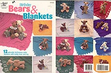 Annies Attic Birthday Bears and Blankets and Bears