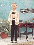 Annie's Fashion Doll Crochet Club: Blazer and Pants Ensemble