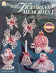 Victorian Memories I thread crochet three dimensional Christmas ornaments