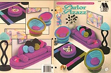 Fashion Doll Home Decor Crochet Collectors Guild: Parlor Pizazz