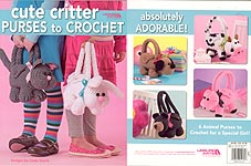 Leisure Arts Cute Critter Purses to Crochet