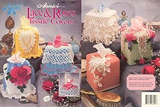 Annie's Lace & Roses Tissue Covers