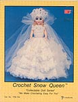 Crochet Snow Queen - Crocheted 15 inch Doll by Td creations