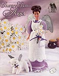 Annie's Attic Fashion Doll Country Charm Angel comes with directions for small stuffed cat angel.