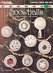 Leisure Arts Crocheted Snowballs