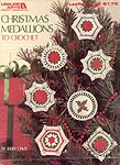 Leisure Arts Christmas Medallions to Crochet